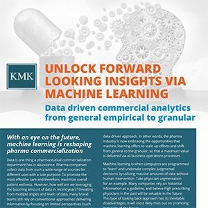 KMK - Unlock forward looking insights via machine learning