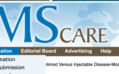 HEOR Principal Huanxue Zhou's Manuscript in International Journal of MS Care